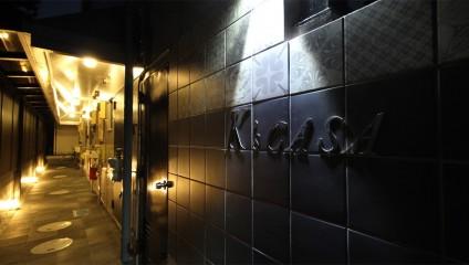 K's CASA リノベーション後 共用廊下 銘板