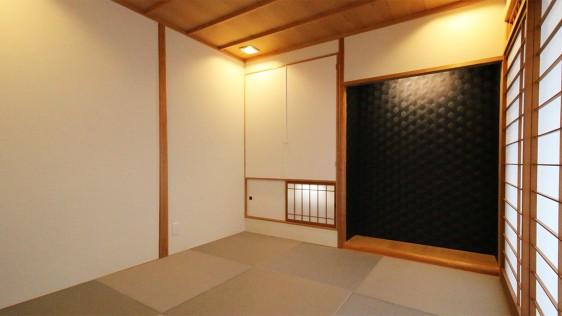 ユウケイマンション401 リノベーション後 和室