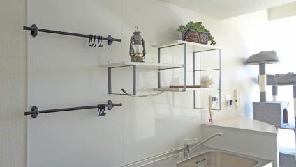 ジュリア須磨浦301号室 リノベーション後 キッチン棚